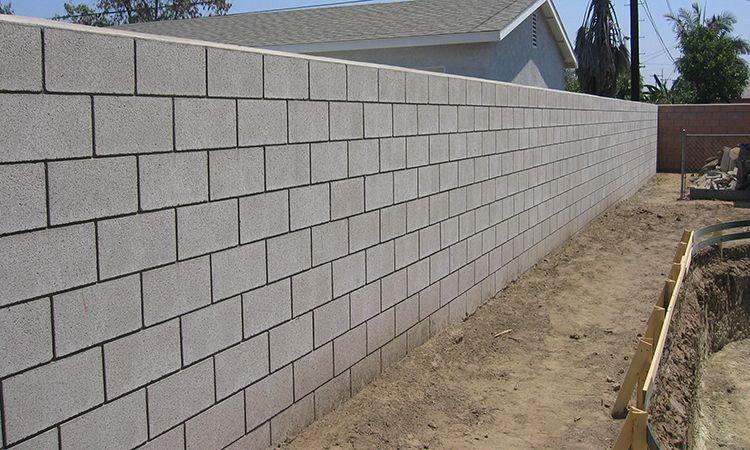 Block Wall Service Cinder Block Walls Pavers Driveway Installation
