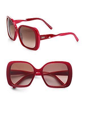 fcf75edaf202 Balenciaga Square Twisted Temple Sunglasses | Cool accessorie ...