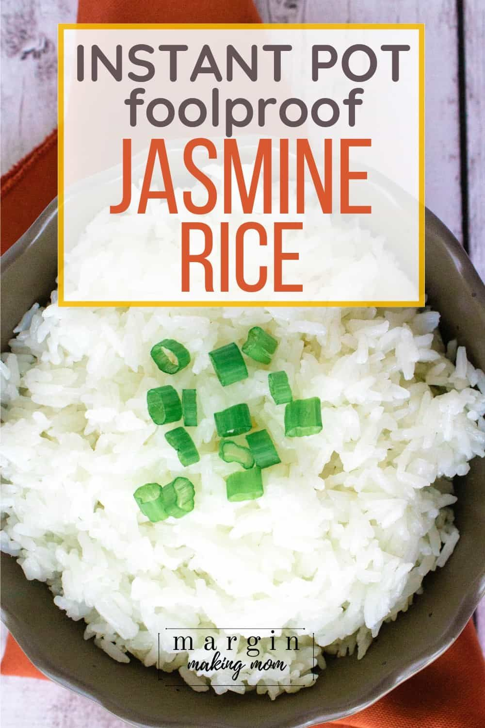 Learn how to cook perfect jasmine rice in the Instant Pot ...