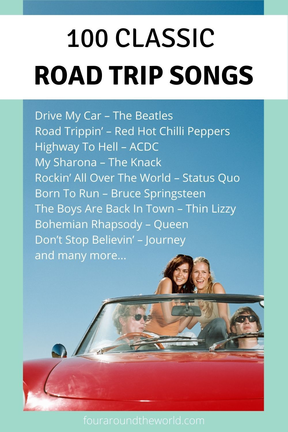 100 Best Road Trip Songs For Families ...