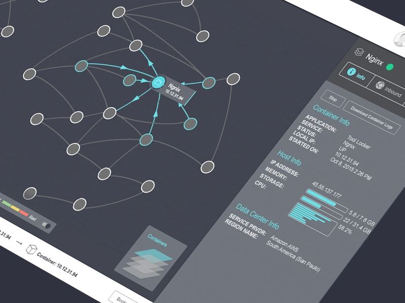 Node Relationships Data visualization design, Dashboard