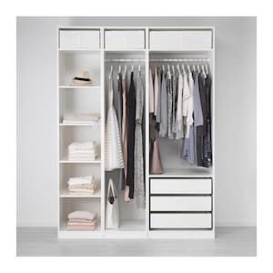 IKEA PAX White Wardrobe images