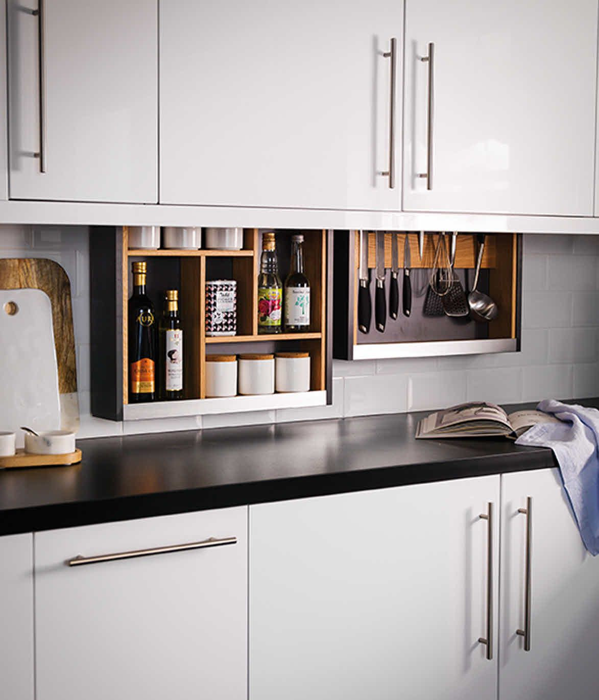Cabinet Plus Cabinets Hidden In Cabinets Kitchen Cabinet Storage Solutions Hidden Kitchen Kitchen Technology