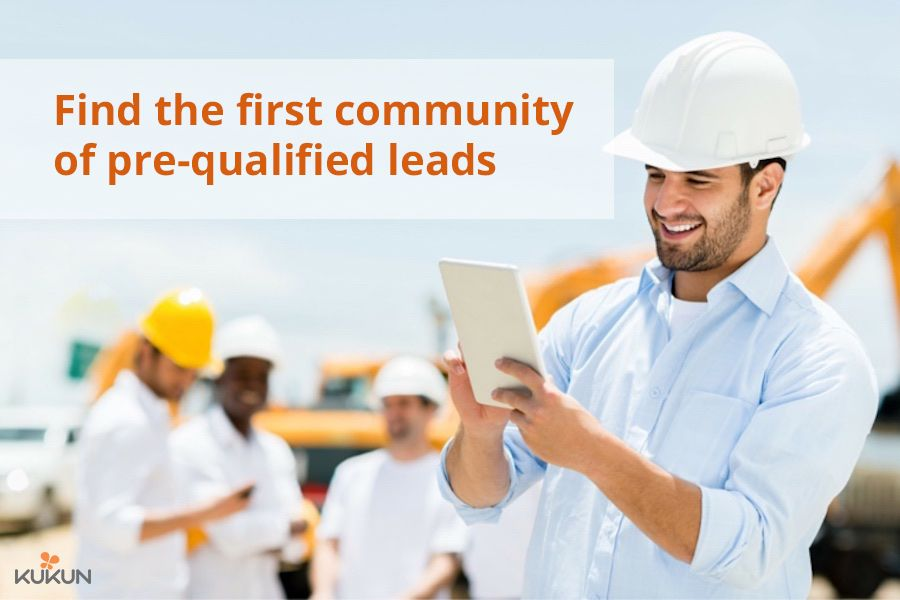 Join As A Contractor Construction Project Management Software Construction Company Mobile Technology