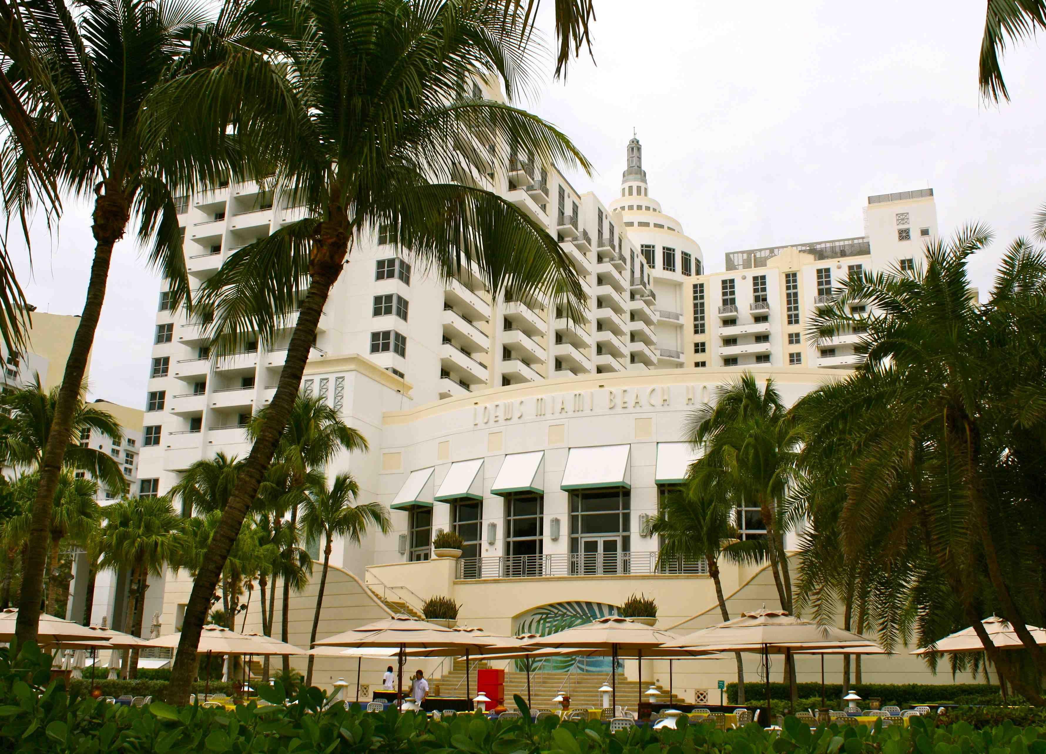 Lowes Miami Beach Hotel Resort Florida South