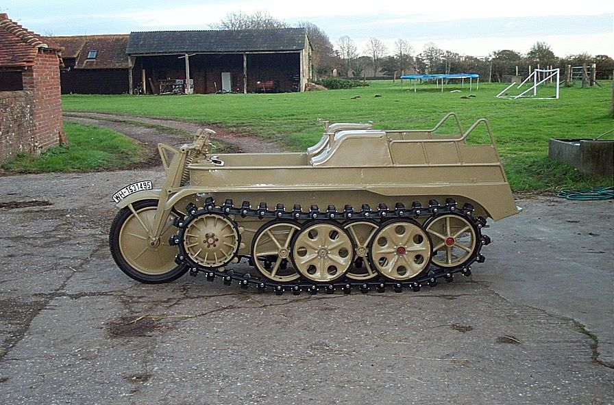 Totally restored, 1943 Kettenkrad