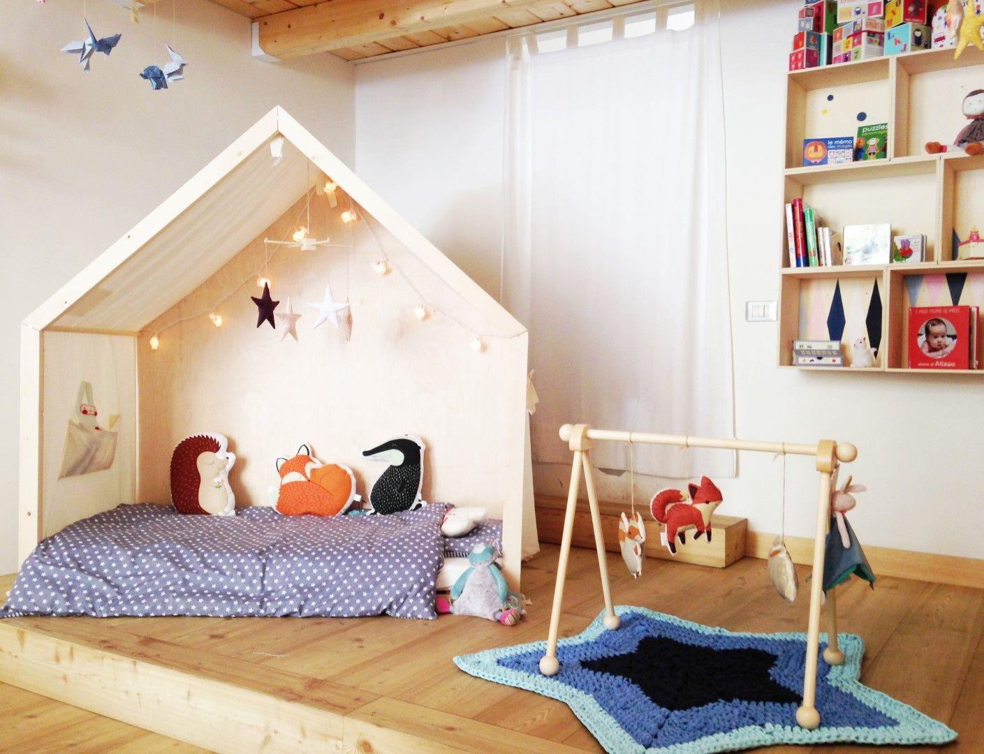 Lettino Montessori Tutti Giu Per Terra Da 0 A 6 Anni E Ispirato Alla