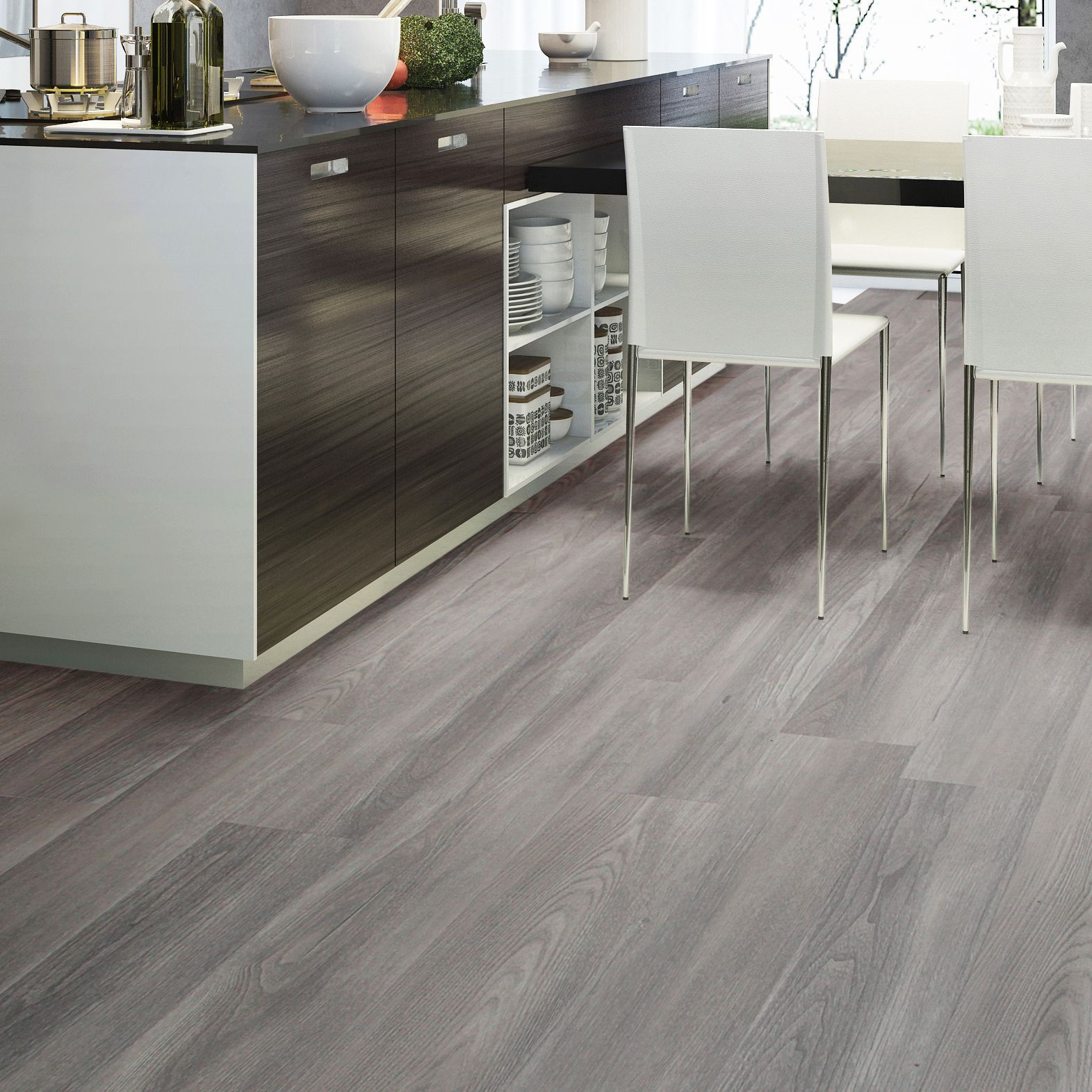 Colours grey natural oak effect waterproof luxury vinyl click colours grey natural oak effect waterproof luxury vinyl click flooring 220m pack doublecrazyfo Gallery
