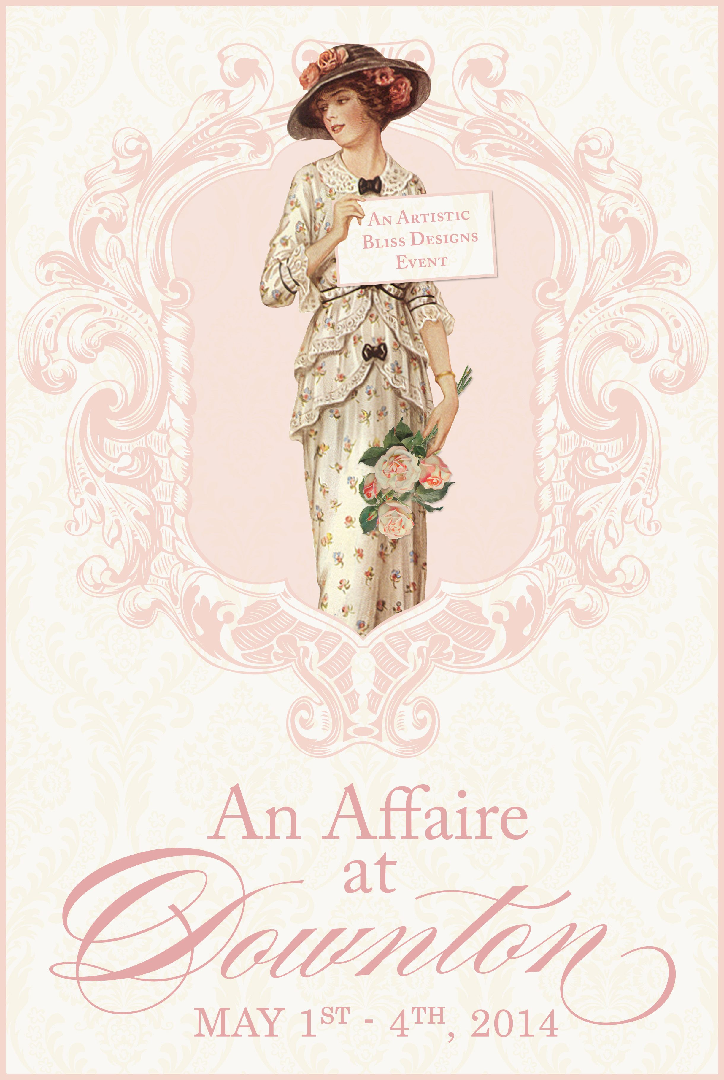 An Affaire at Downton will be an amazing mixed media creative event hosted by the lovely Kim Caldwell. I can't wait!