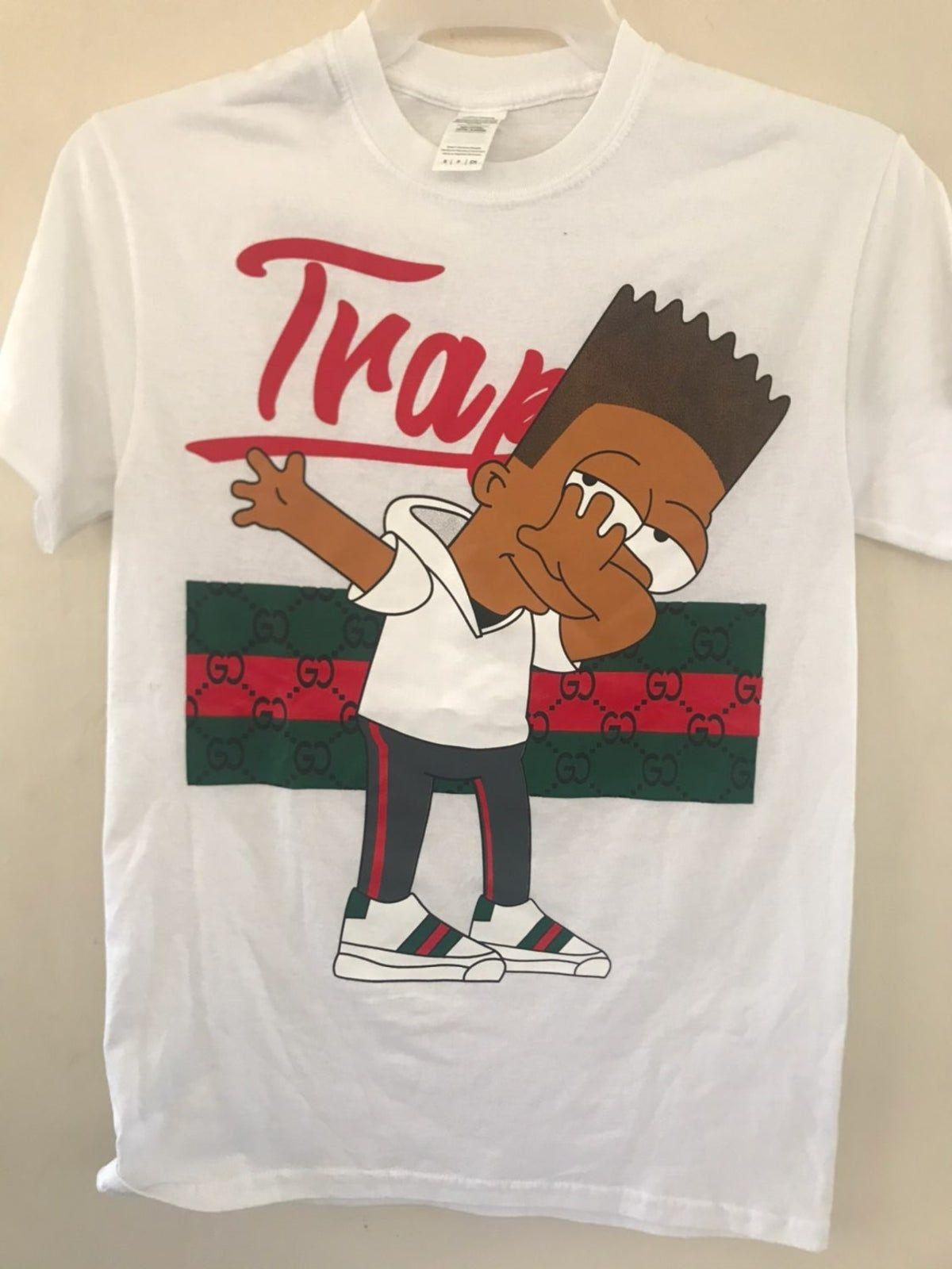 Bootleg Bart Simpson Trap T Shirt Bootleg Bart Bart Simpson Bootleg