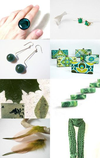 Green by Anat kisch on Etsy