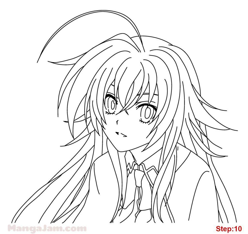 Anime 1200x1600 High School DxD anime girls Gremory Rias
