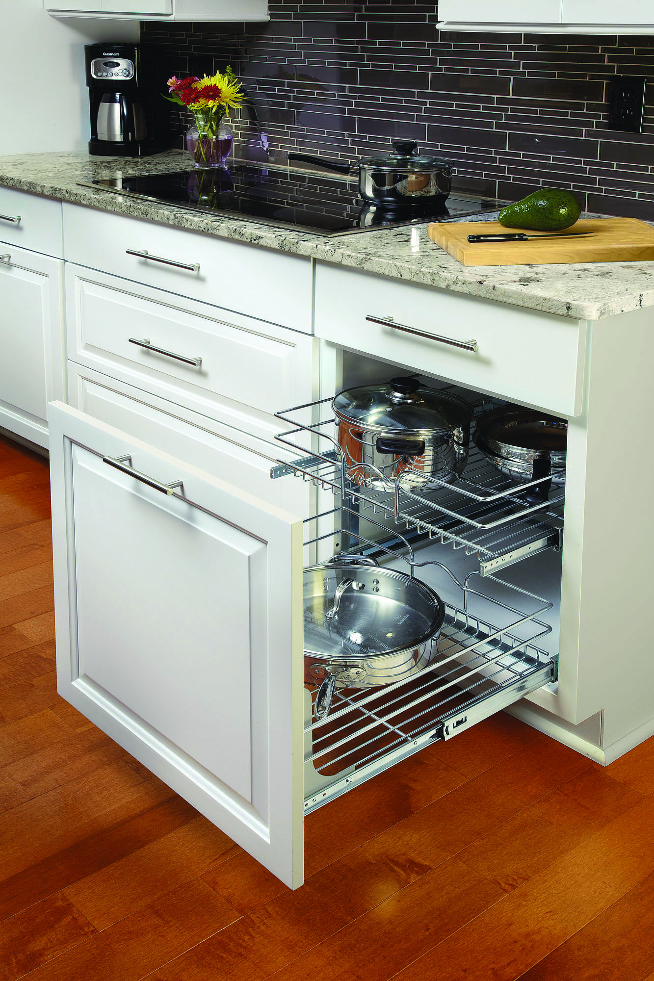 Change the way you organize your kitchen with a Rev A Shelf 21 x