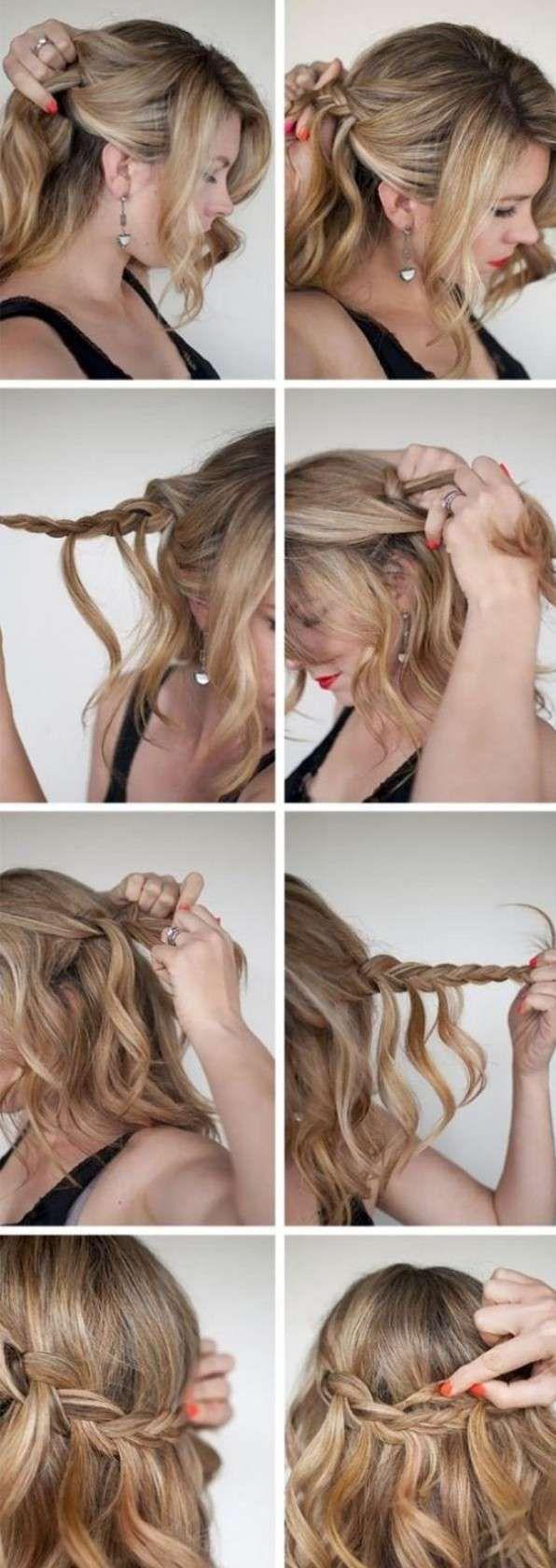 Wunderschone Flechtfrisuren In 10 Minuten 26 Diy Ideen Frisuren Haarlange Geflochtene Frisuren