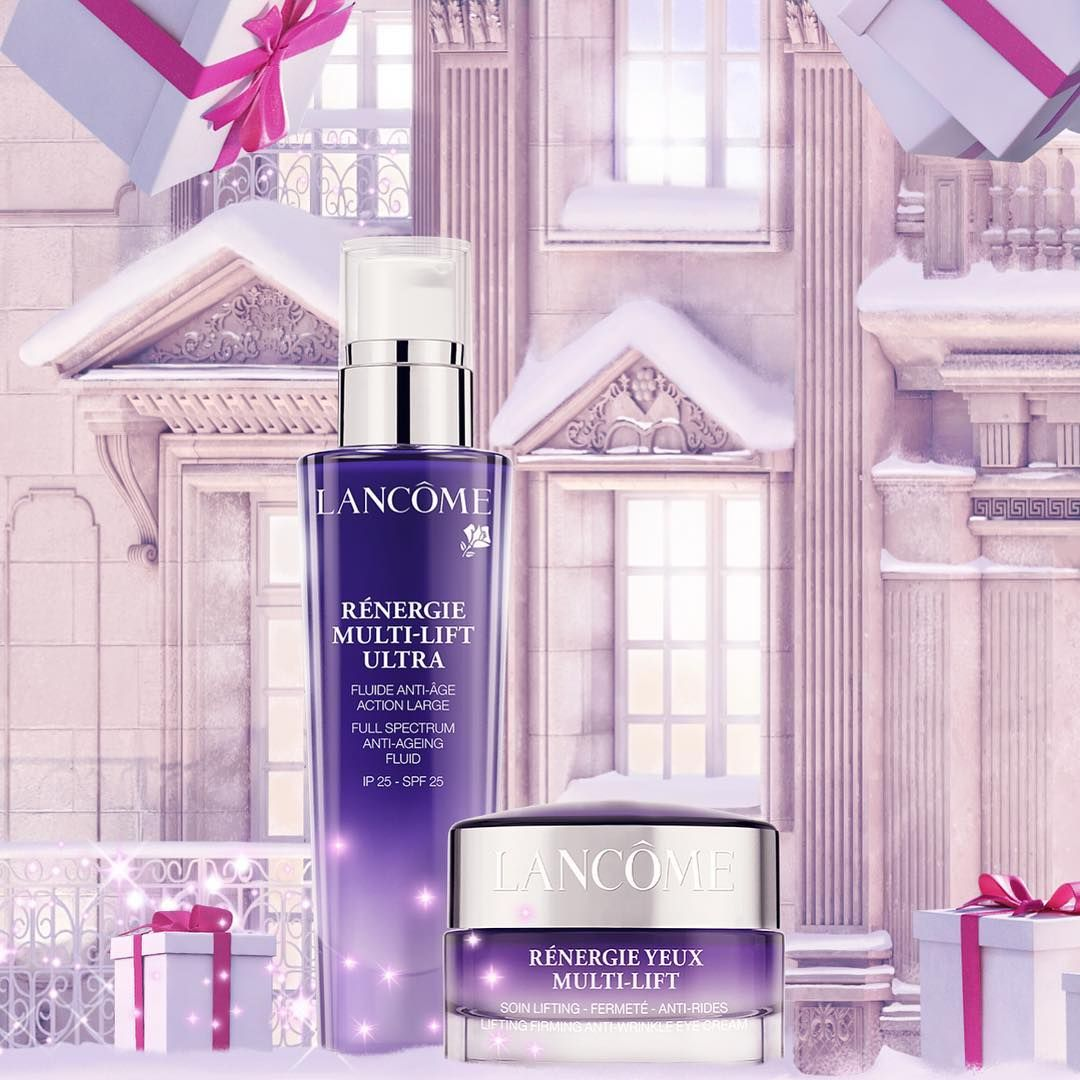 Lancôme cream Renergie Lift with sunscreen new jar Brand