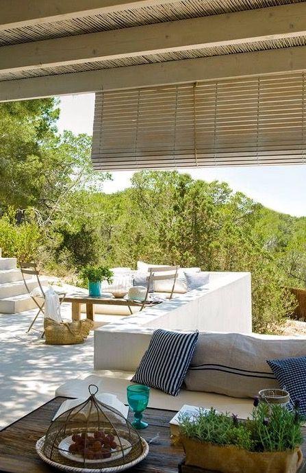 A House In Mallorca Porches Casas Mediterráneas Pequeñas