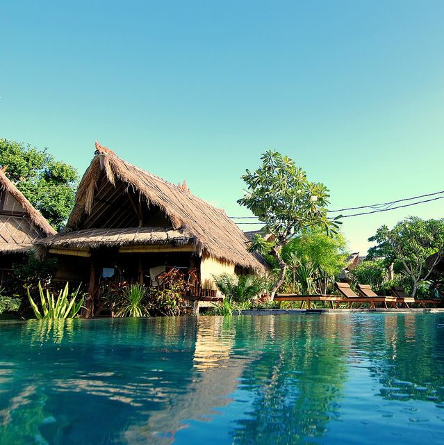 Best Honeymoon Places Bali: Flowerbud Bungalows At Balangan Beach