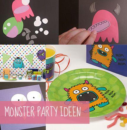 so feiern kleine monster tipps und ideen f r die monsterparty monsterparty pinterest. Black Bedroom Furniture Sets. Home Design Ideas