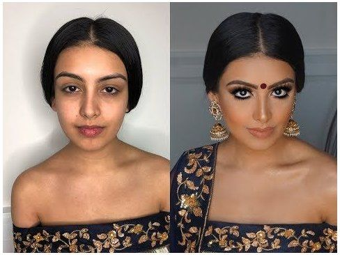 Indian   Bollywood   South Asian Bridal Makeup From Start To Finish @Blueroseartistry #bridalmakeup