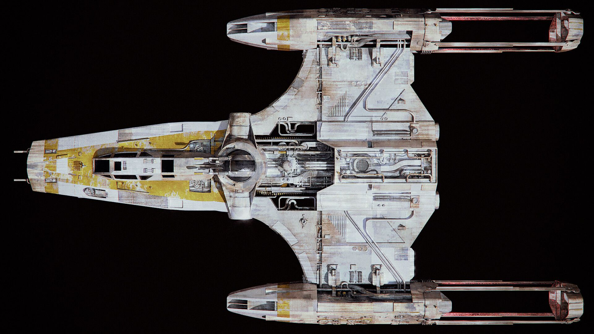 Artstation Resistance Y Wing Angelos Karderinis Star Wars Ships Design Star Wars Vehicles Star Wars Ships