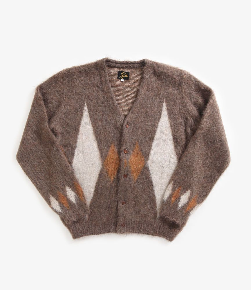 nepenthes online store | NEEDLES Mohair Cardigan - Diamond ...