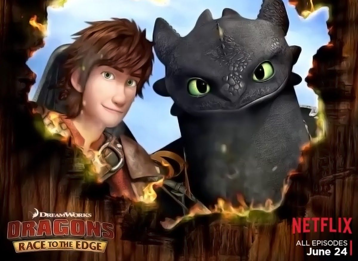 Hiccup and toothless from dreamworks dragons race to the edge how hiccup and toothless from dreamworks dragons race to the edge ccuart Gallery