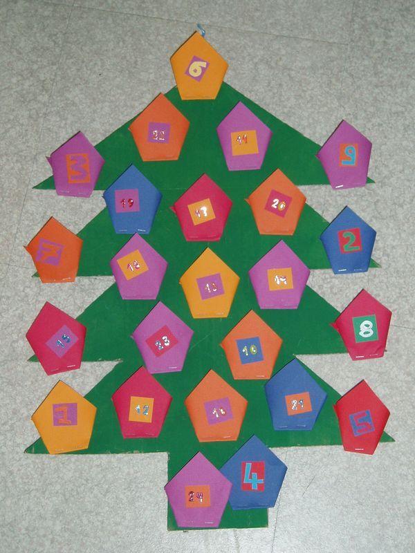 Awesome Fabriquer Calendrier De L Avent Maternelle Noel