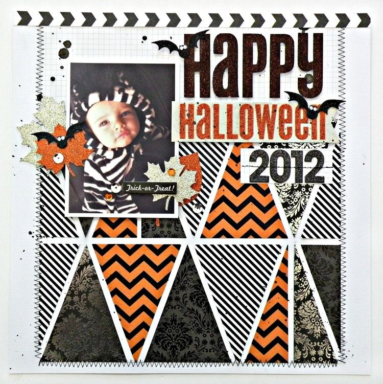 Halloween Scrapbook Page Halloween scrapbook, Happy halloween and - halloween michaels