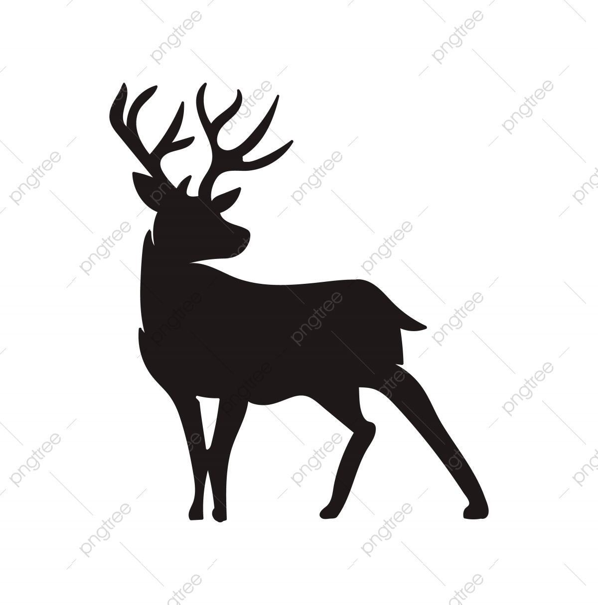 Deer Silhouette Vector Animal Antler Art Png And Vector With Transparent Background For Free Download In 2020 Deer Silhouette Art Deer Silhouette Silhouette Vector