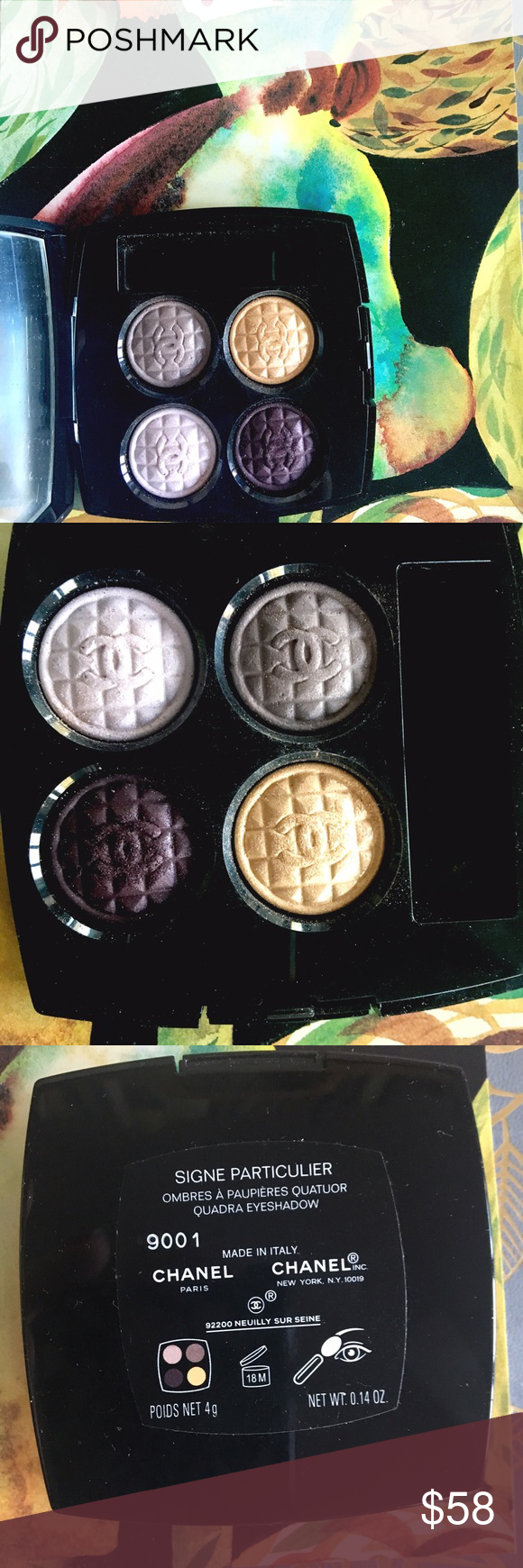 Sale LE Chanel Signe Particulier Eye Travel brushes