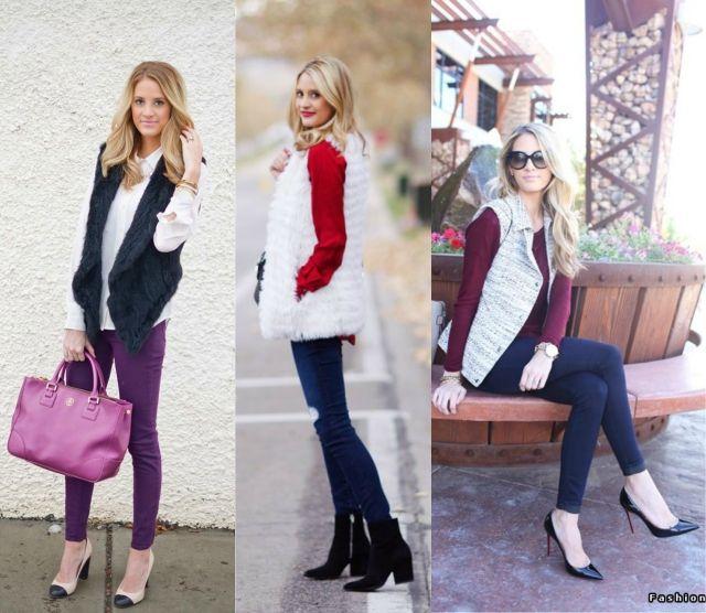 Blog Femina - Modéstia e Elegância: Trend: coletes (blogueiras)