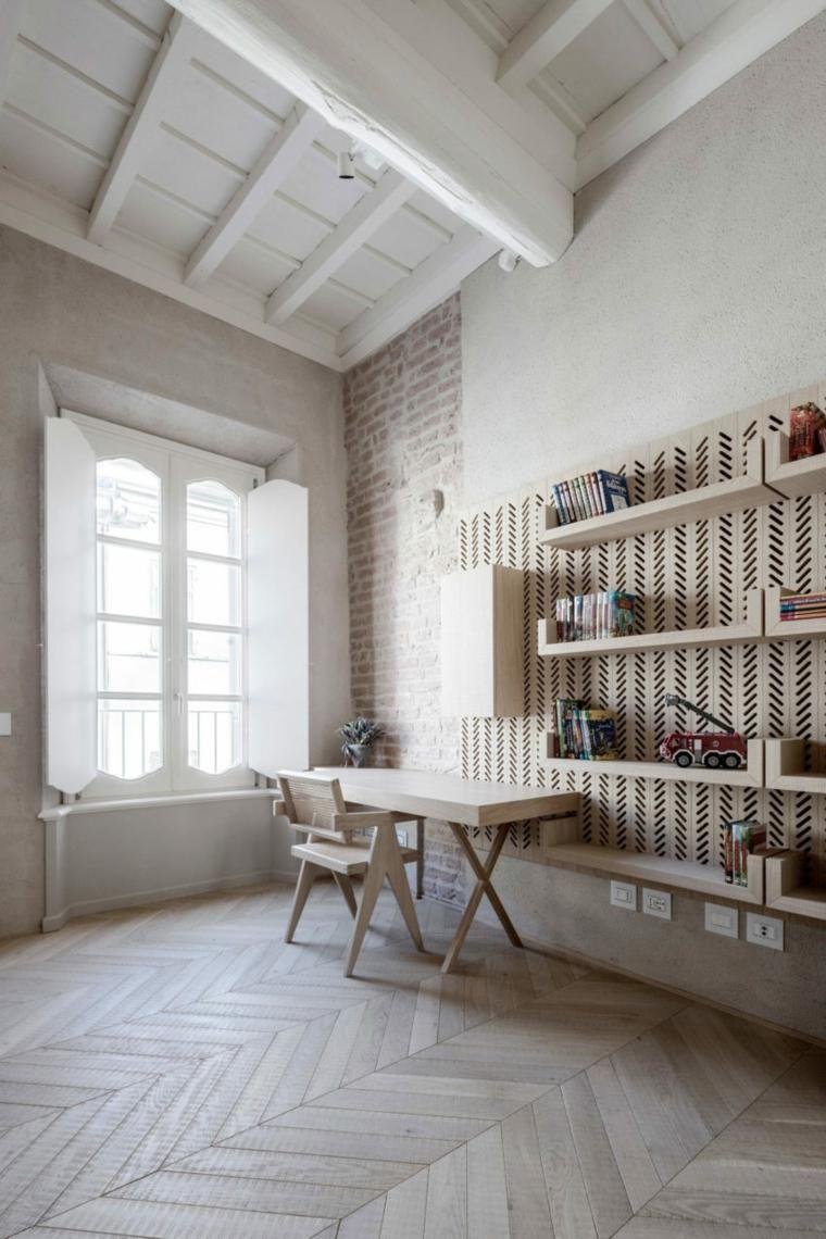 Neuer Stil in der alten, von Archiplan ESTUDIO entworfenen Wohnung ...