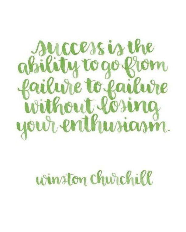 Some wise words from Winston Churchill. #YYC #YYCBusiness #YYCEntrepreneur #WiseWordds #Success