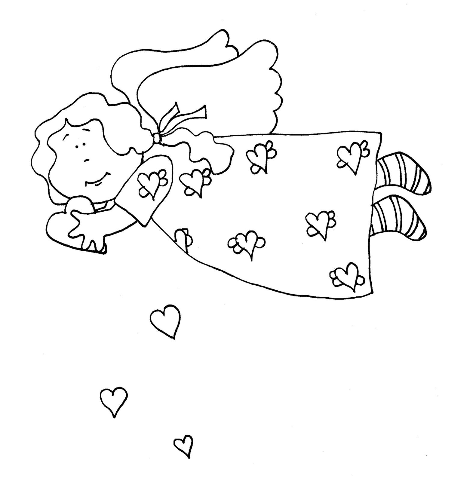 Free Dearie Dolls Digi Stamps Valentine Angel Digi