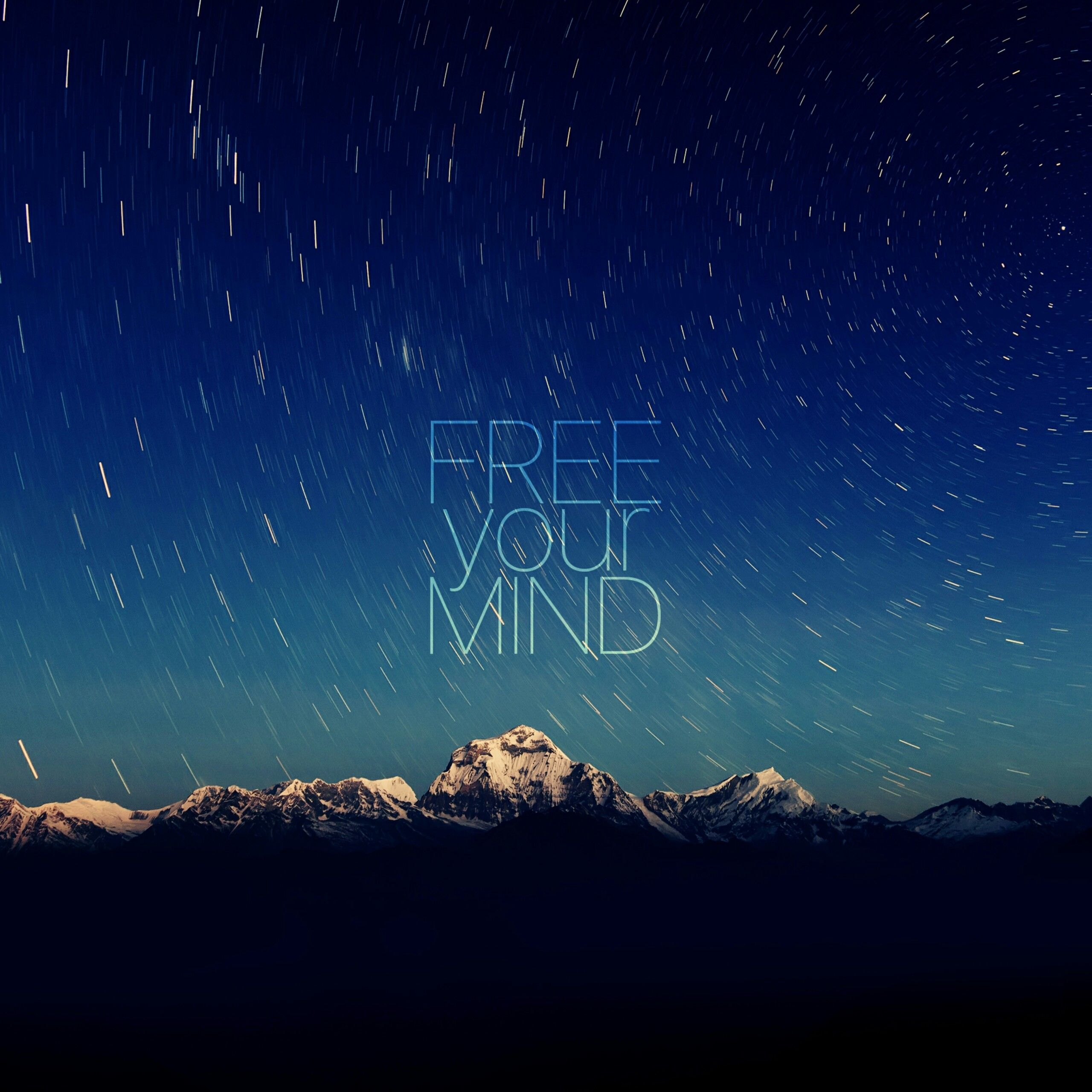 Free Your Mind Quotes Qhd Wallpaper 2560x2560 Wallpaper Qhd