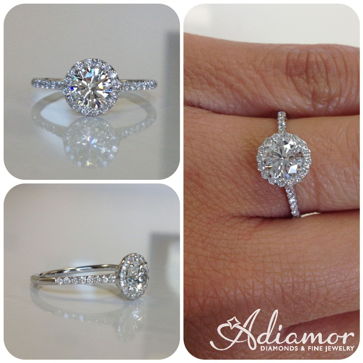 french and cut round looks center with a is princess great engagement shown any this stone radiant halo our style rings shape pin