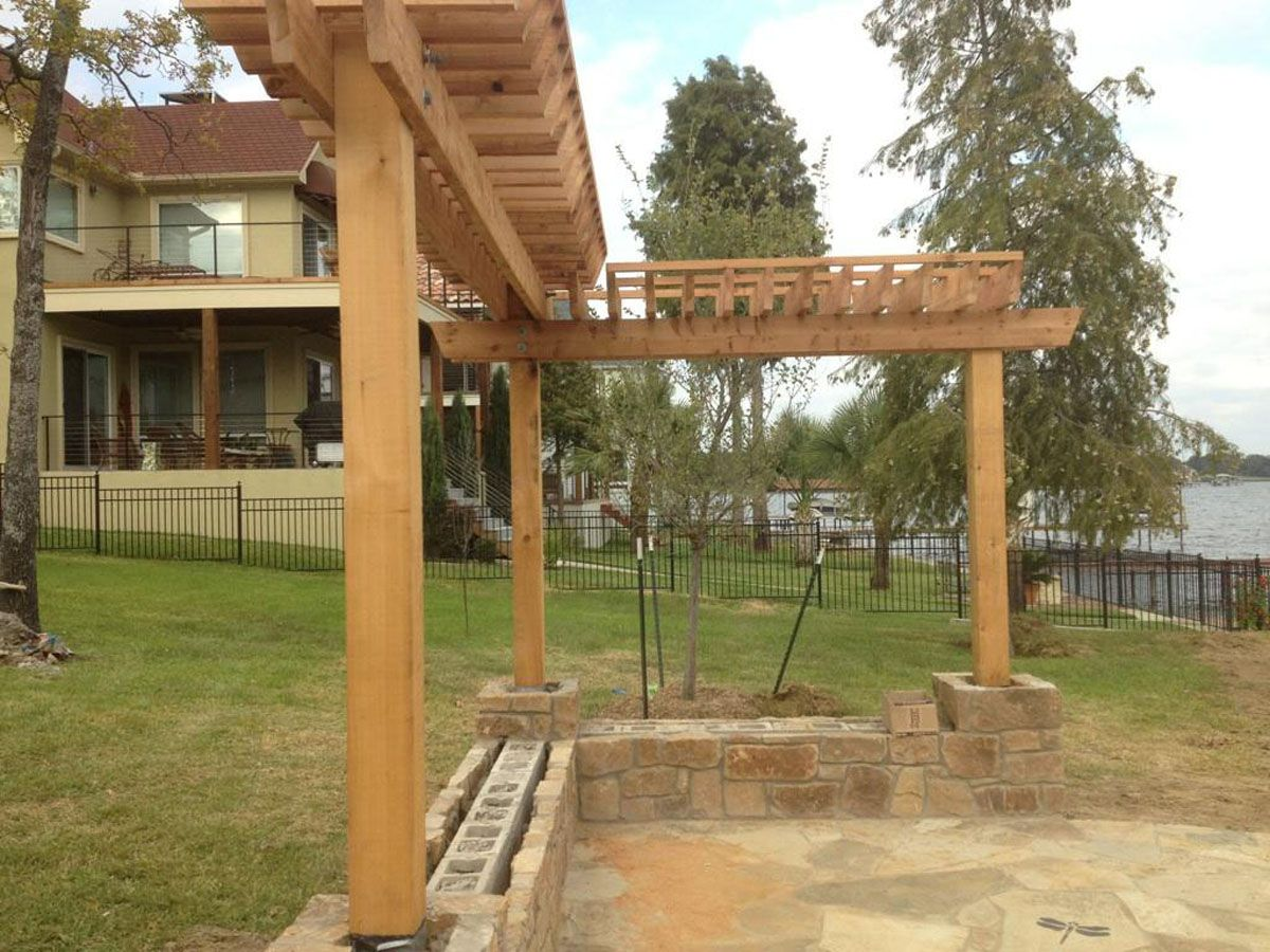 L Shaped Pergola Plans  Google Search