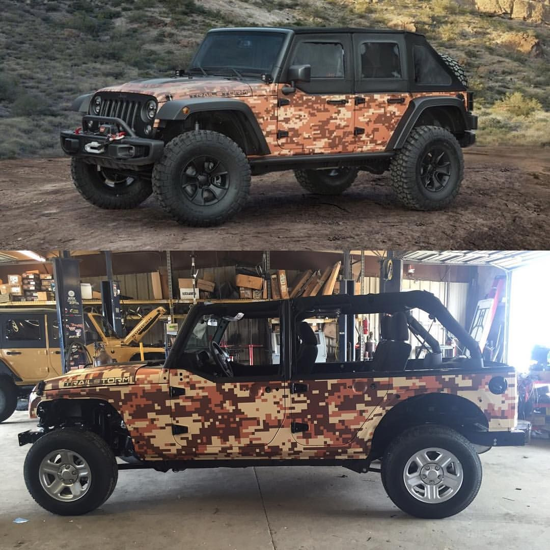 Has Anybody Seen The #trailstorm #jeep Concept? We Decided To Build Our Own