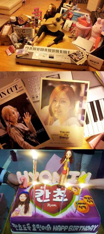 T Aras Hyo Min Receives Piles Of Birthday Presents From Fans Tara Kpop Mnet