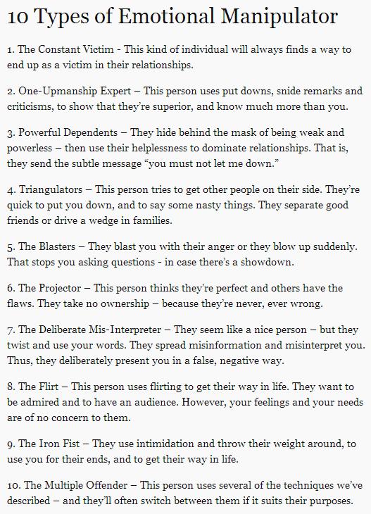 signs of a manipulative man