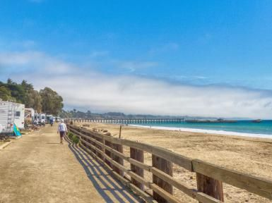 Camping At Santa Cruz S Seacliff State Beach Sand Just Outside Your Door