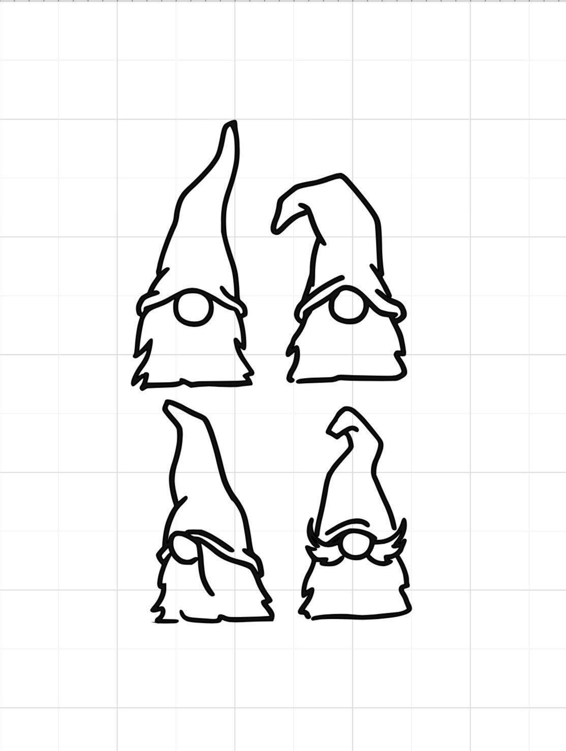 Gnome Svg Gnomes Svg Gnome Gnomes Etsy In 2021 Gnomes Gnome Patterns Gnomes Crafts