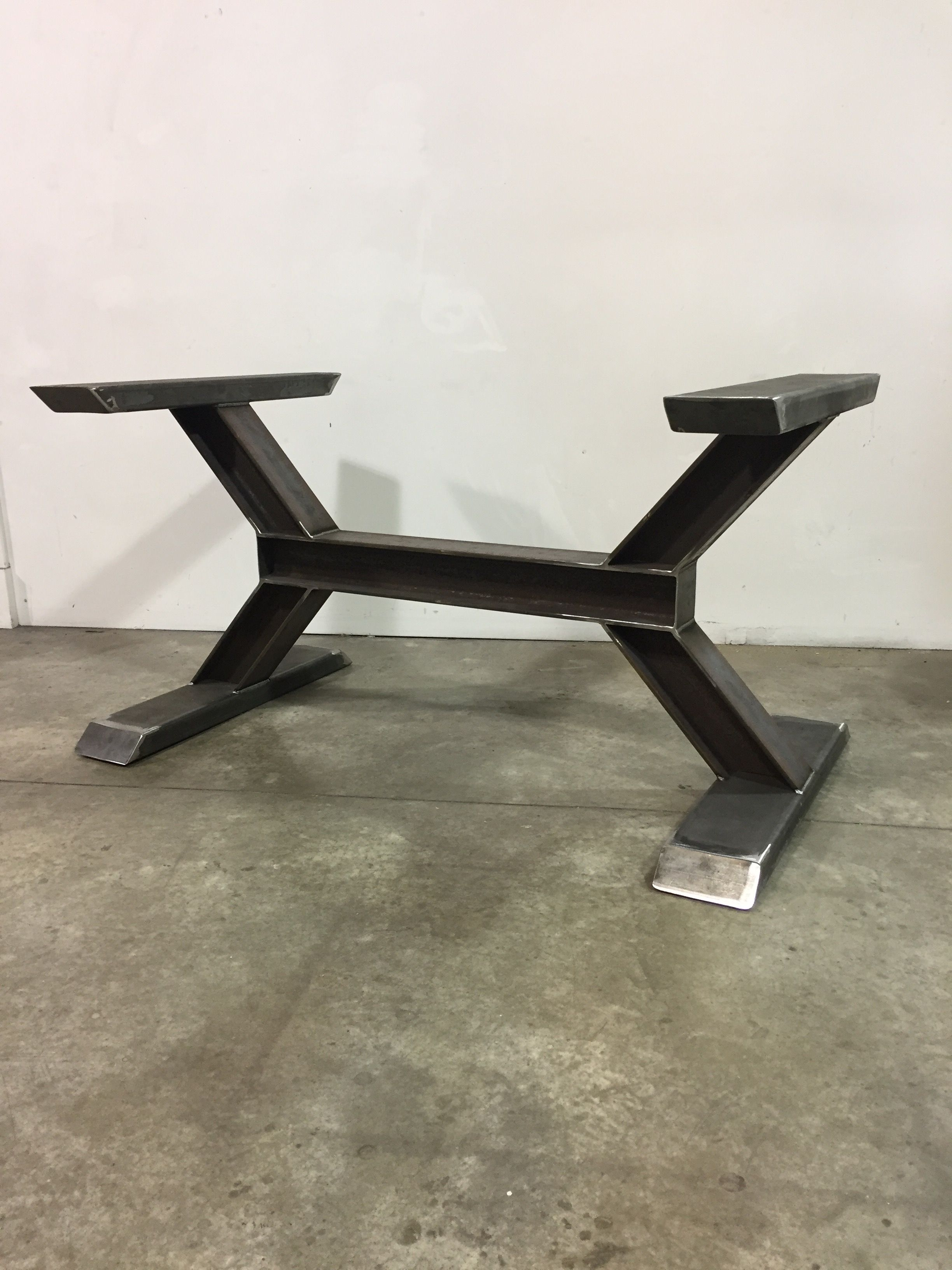 Worxx I Beam Table Base Welded Furniture Steel Table Base Steel Furniture