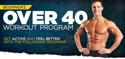 beginner's over 40 workout program take action to look