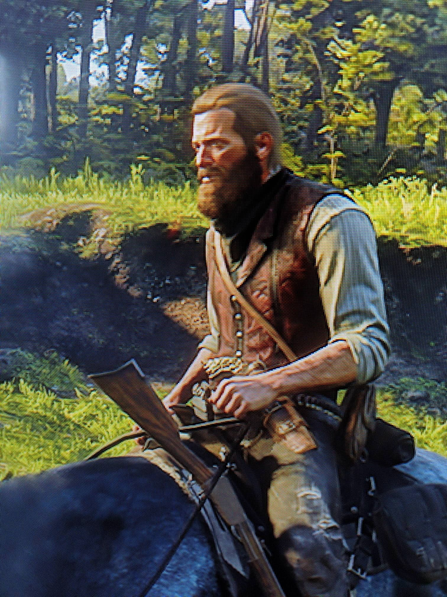 Shout out to Arthur Morgan\u0027s ability to grow a beautiful