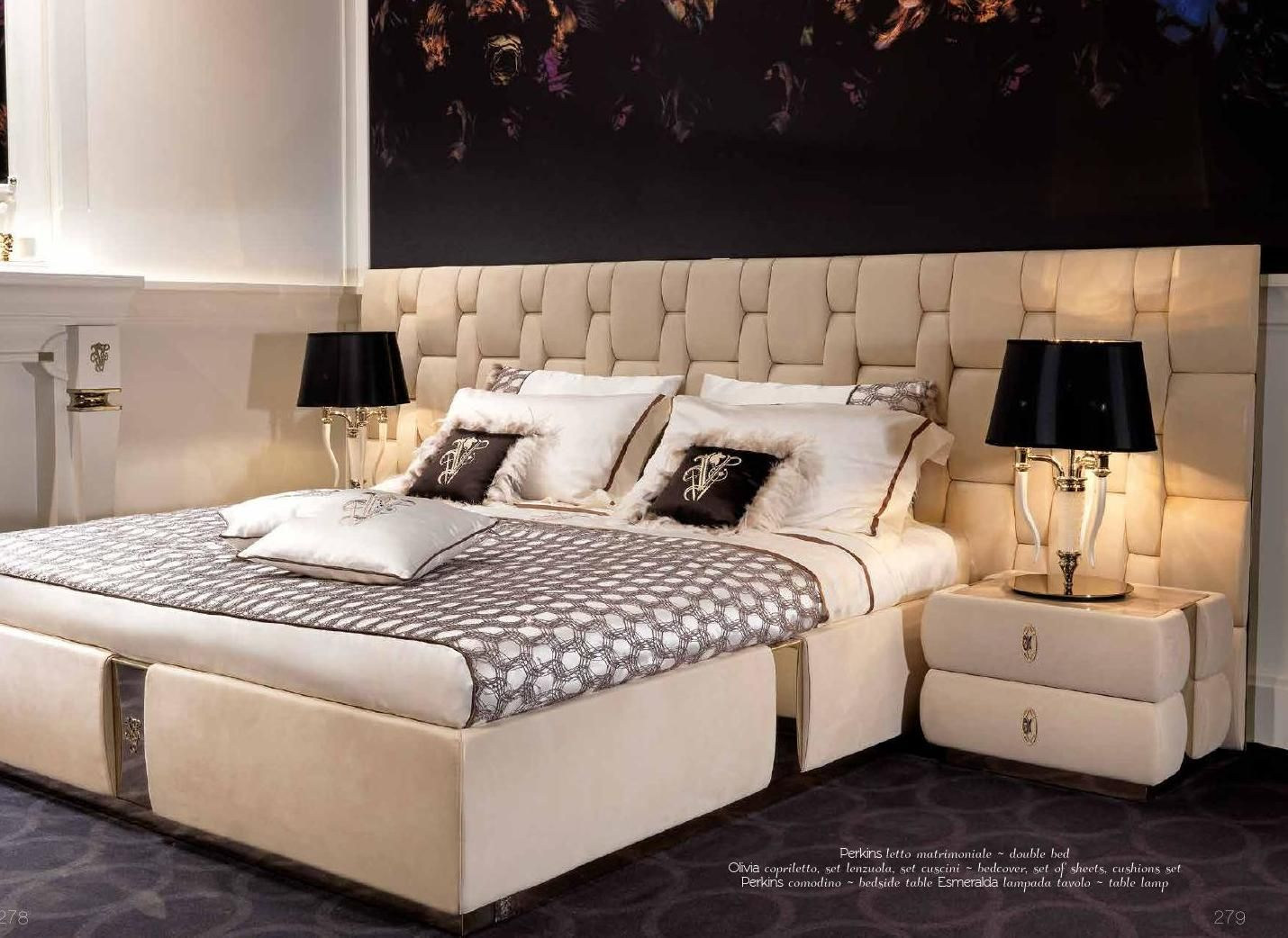 Ipe Cavalli Visionnaire 2014 Bedroom Bed Design Bed Headboard Design Bed Design