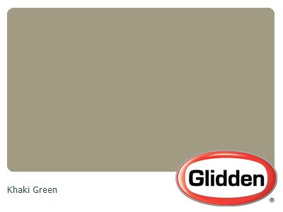 Khaki Green Paint Color