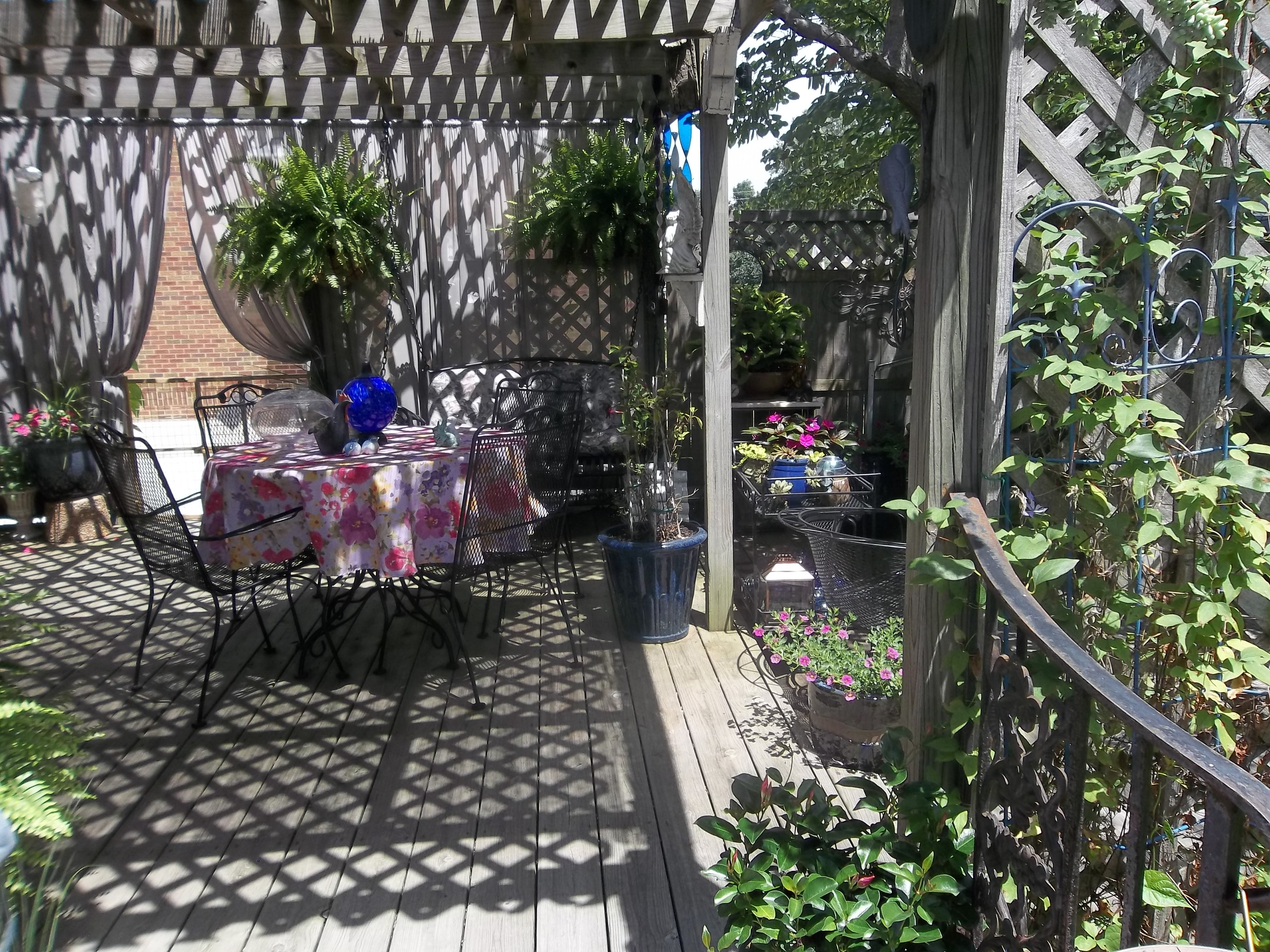 wrought iron handrail on back deck mine all mine pinterest