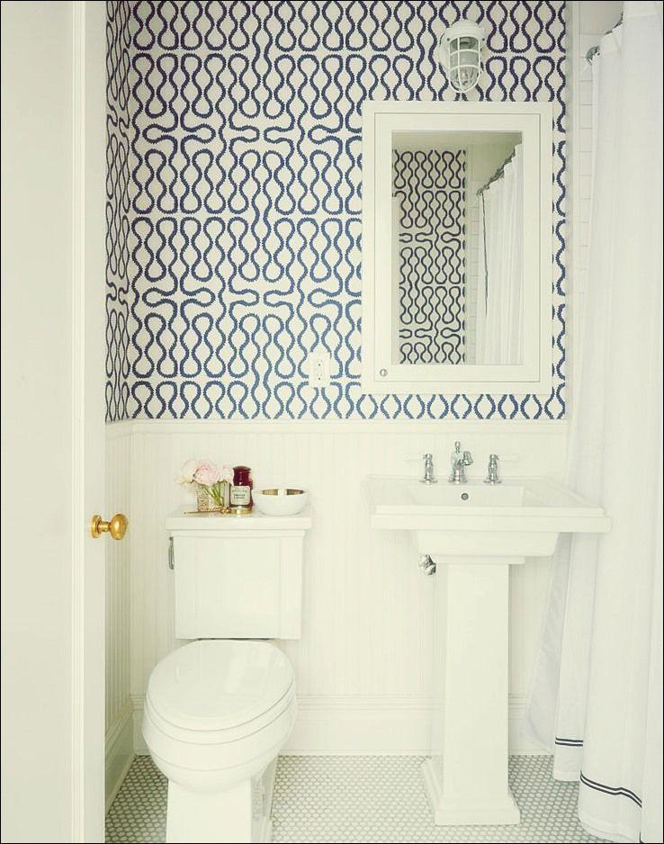 30 Wunderschone Tapezierte Badezimmer Badezimmer Gestalten Badezimmer Tapete Badezimmer Dekor