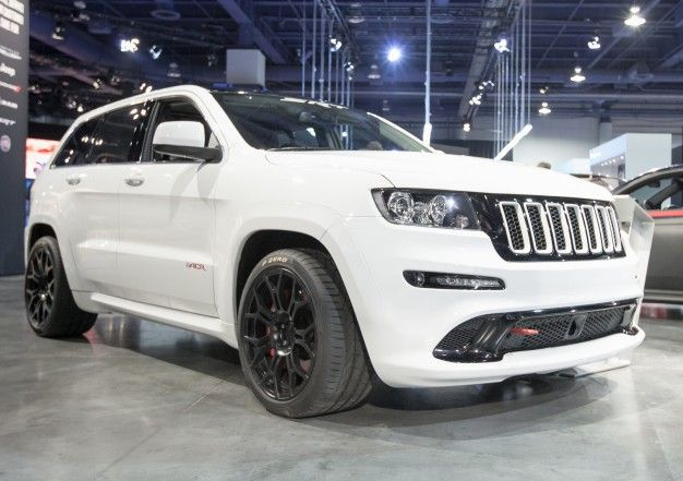 Mopar Shows Off Some Prototype Parts For Jeep Grand Cherokee Srt8